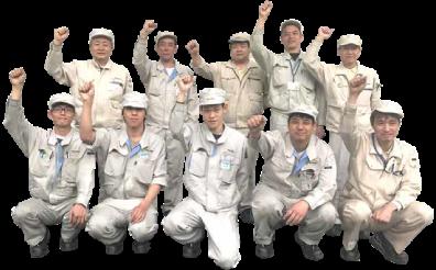 ナビタスマシナリーの社員たち