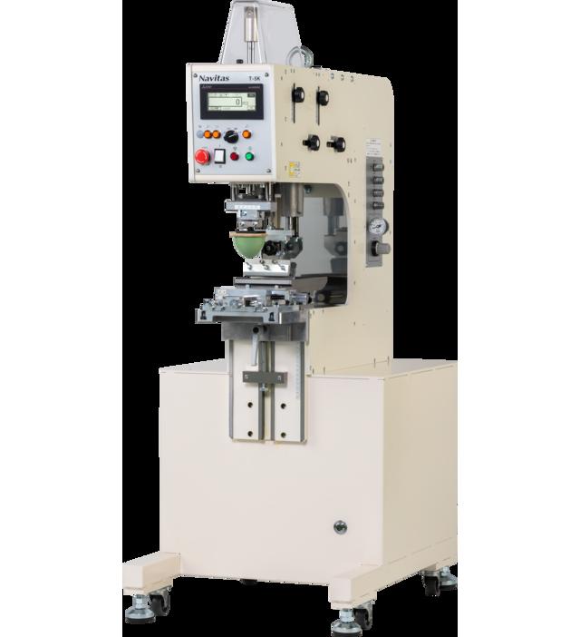 ナビタスマシナリーのパッド印刷機「T-5K」