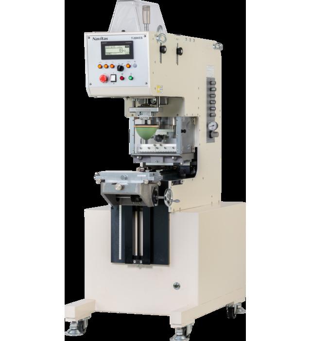 ナビタスマシナリーのパッド印刷機「T-20H/CS」