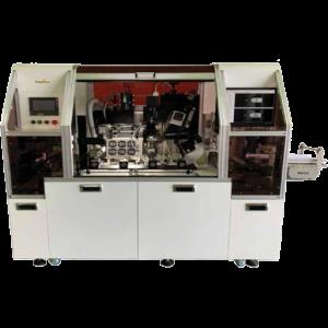 ナビタスマシナリーの円筒/オーバル容器兼用 検査装置
