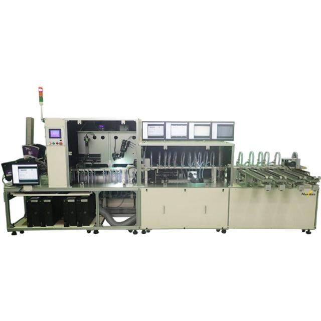 ナビタスマシナリーのカード両面検査装置